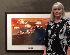 Kris Parins Honored By American Watercolor Society